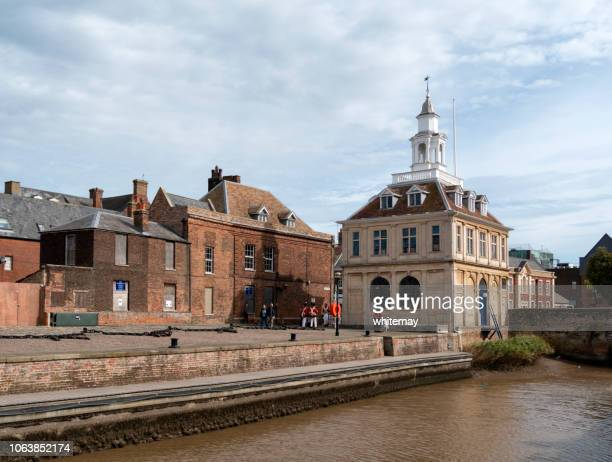 King's Lynn Custom House and Purfleet with Redcoats