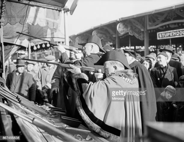 King's Lynn Mart Fair Norfolk 15th February 1953
