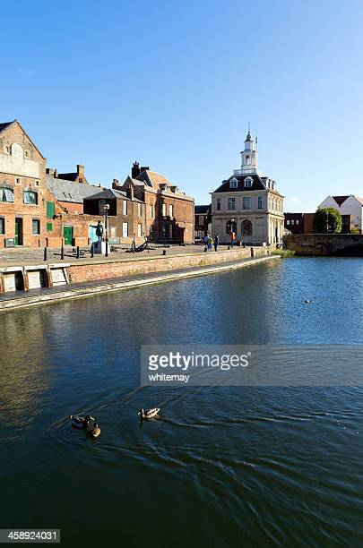 King's Lynn - Purfleet, Captain Vancouver, Custom House and ducks