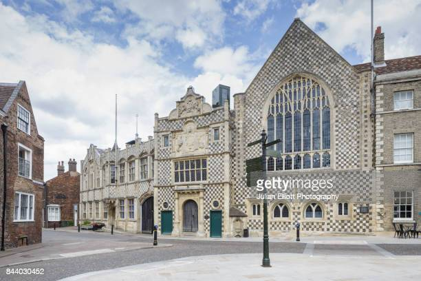 king's lynn town hall. - king's lynn stock pictures, royalty-free photos & images