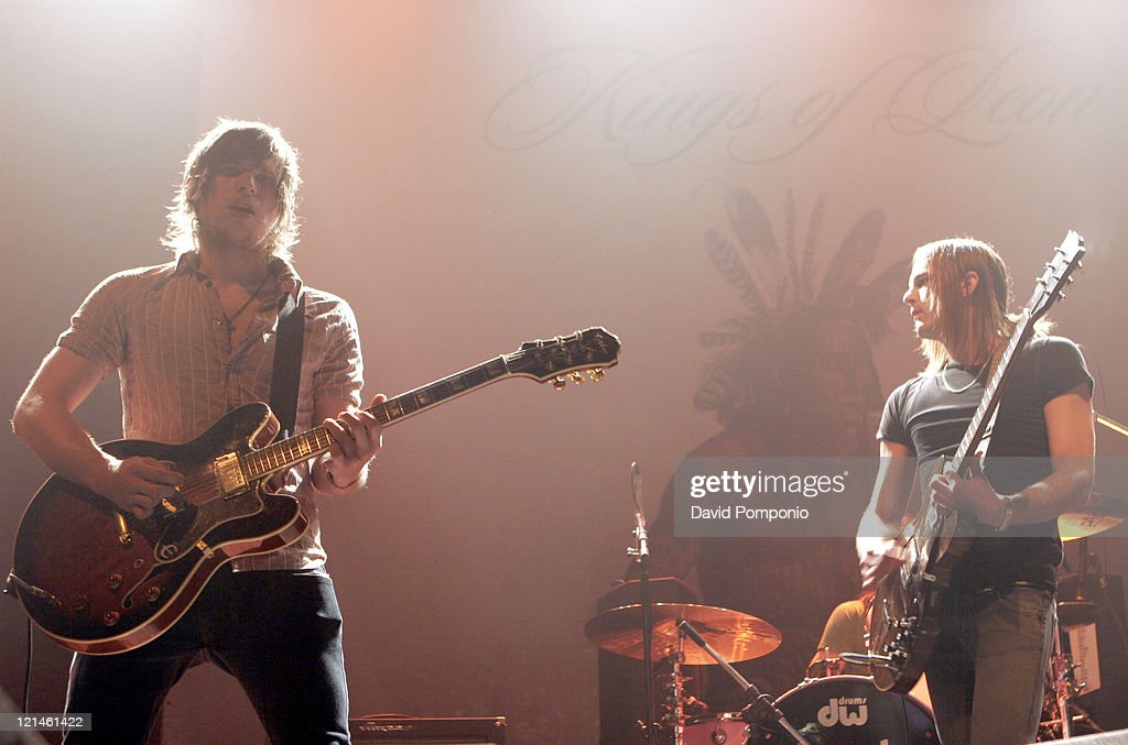 Kings of Leon in Concert at Roseland in New York City - August 8, 2005
