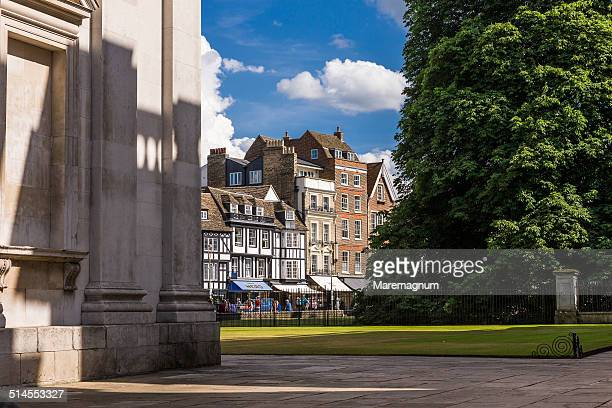 king's parade - cambridge stock pictures, royalty-free photos & images