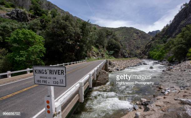 kings river crossing - highlywood stock photos and pictures