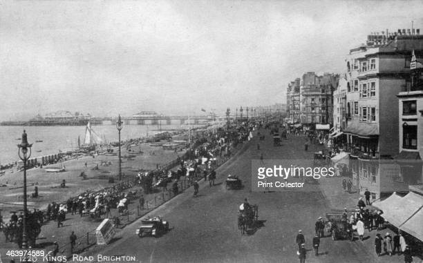 King's Road Brighton East Sussex early 20th century
