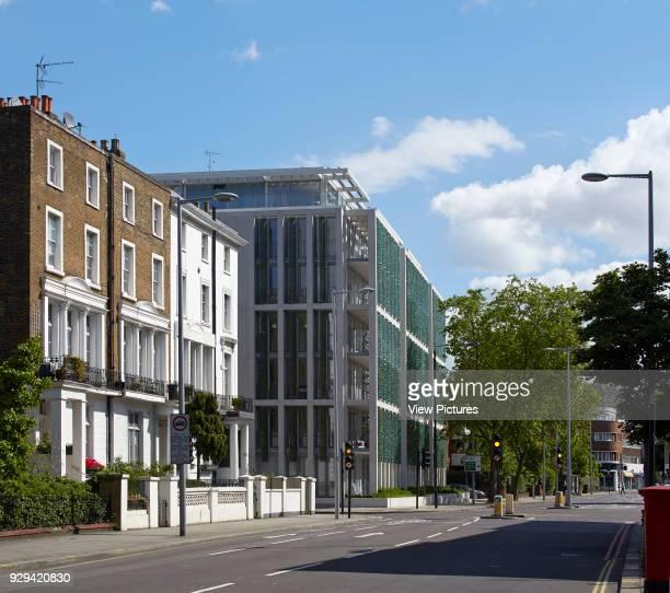 Kingsgate House London United Kingdom Architect Horden Cherry Lee Architects Ltd 2014 Contextual street view