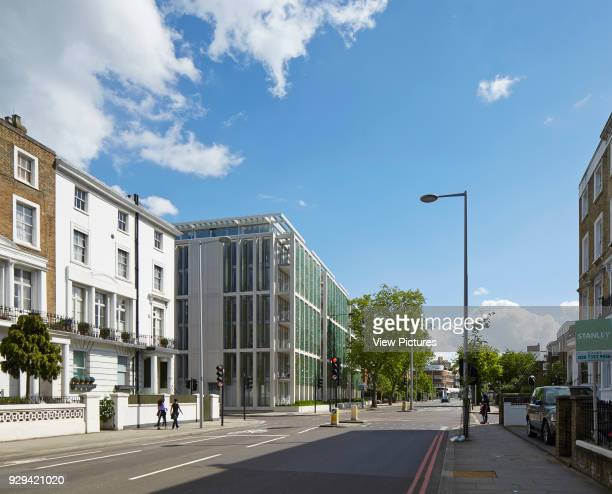 Kingsgate House London United Kingdom Architect Horden Cherry Lee Architects Ltd 2014 View from west along King's Road towards building