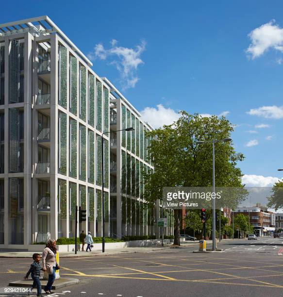 Kingsgate House London United Kingdom Architect Horden Cherry Lee Architects Ltd 2014 Building perspective at intersection