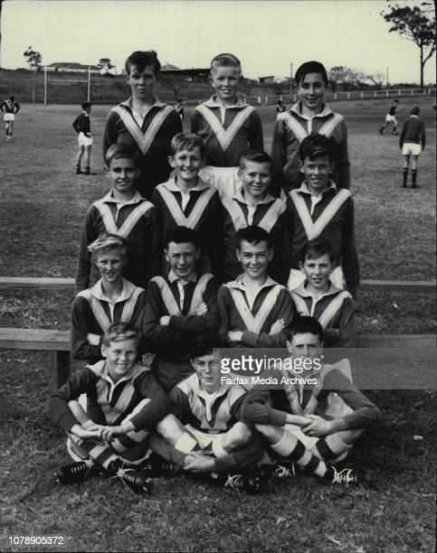 Kingsgrove North's 67 sideBack row Tyrone Harrington Kevin Harvey Darryl Woodward Second Row Neil Newson Tony Mandin Bill Stephenson Ray Gregory...