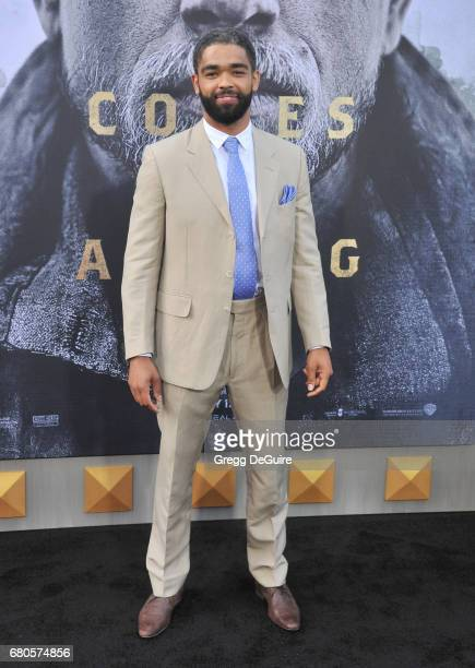 Kingsley BenAdir arrives at the premiere of Warner Bros Pictures' King Arthur Legend Of The Sword at TCL Chinese Theatre on May 8 2017 in Hollywood...