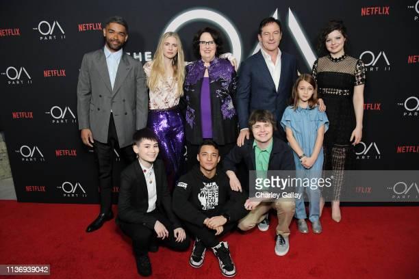 Kingsley Ben-Adir, The OA Co-creator Brit Marling, Phyllis Smith, Jason Isaacs, Chloe Levine and Ian Alexander, Brandon Perea, Brendan Meyer and Zoey...