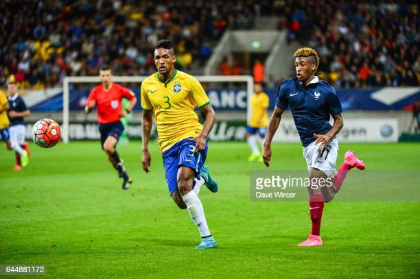 WALLACE / Kingsley COMAN France / Bresil Espoirs Match amical 2015 Photo Dave Winter / Icon Sport