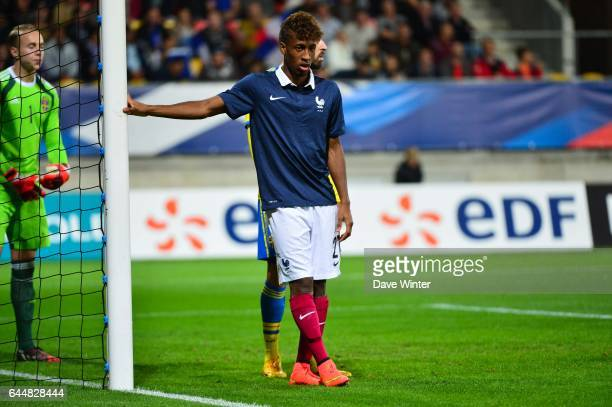 Kingsley COMAN Suede / France Eliminatoires Euro Espoirs 2015 Photo Dave Winter / Icon Sport