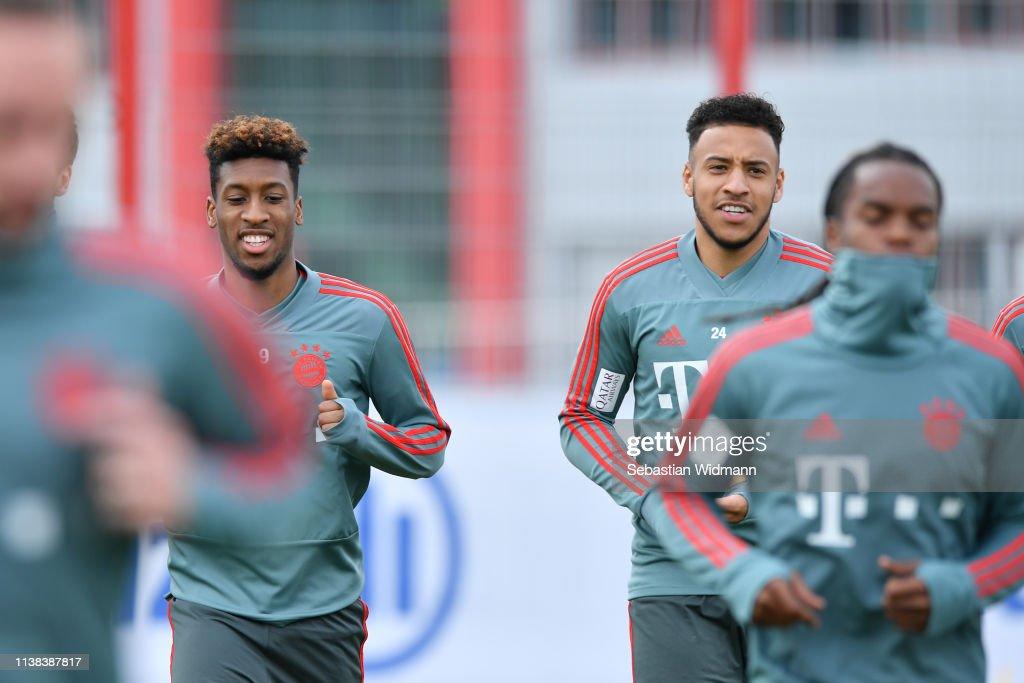 DEU: Bayern Muenchen Training Session