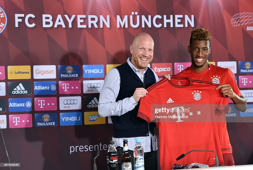 FC Bayern Muenchen Unveils New Signing Kingsley Coman : News Photo