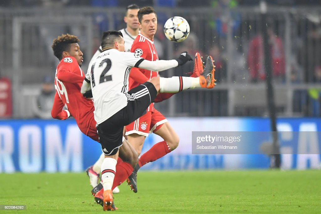 Bayern Muenchen v Besiktas - UEFA Champions League Round of 16: First Leg : News Photo