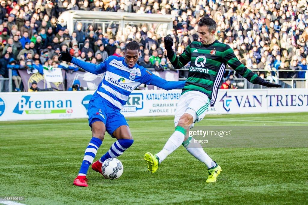 Dutch Eredivisie'PEC Zwolle v Feyenoord' : News Photo