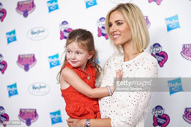 Kingsley Taekman and Kristen Taekman attend the My Little Pony Equestria Girls Friendship Games New York premiere at Angelika Film Center on...