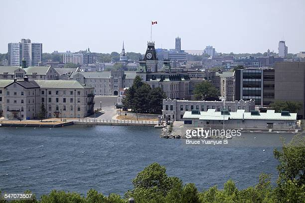 kingston city skyline - kingston ontario stock photos and pictures
