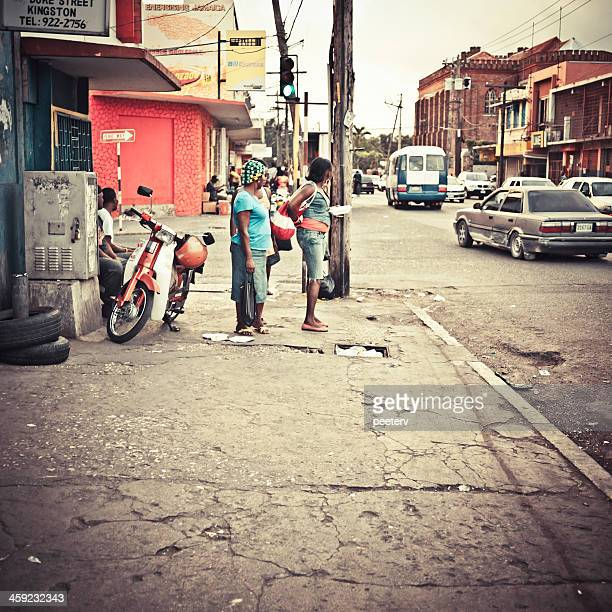 kingston downtown. - kingston jamaica stock pictures, royalty-free photos & images