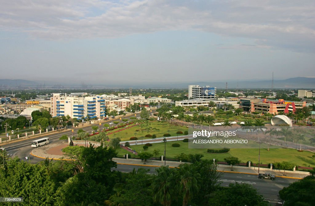 A general view of Kingston, the capital... : News Photo