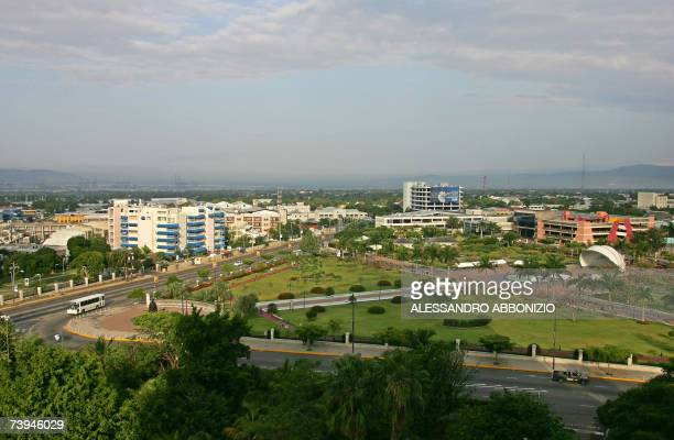 A general view of Kingston the capital city of Jamaica is pictured 22 April 2007 Kingston is located on the southeastern coast of Jamaica and is the...