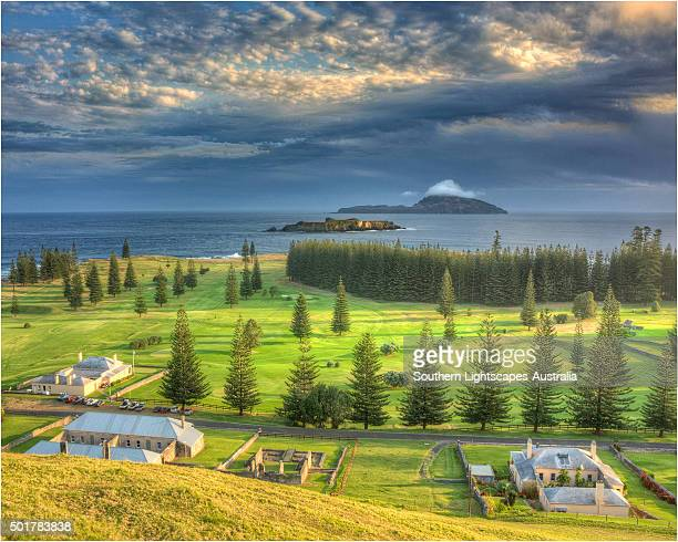 A Kingston Norfolk Island view, part of the restored British penal colony buildings and now a world heritage listed area.