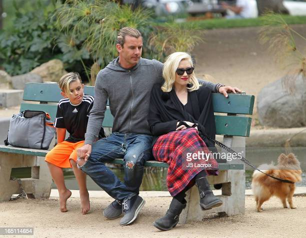 Kingston Rossdale Gavin Rossdale and Gwen Stefani are seen on March 30 2013 in Los Angeles California