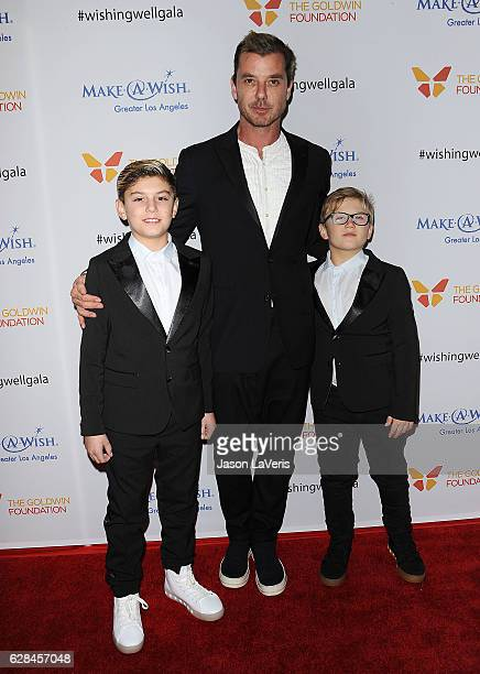 Kingston Rossdale Gavin Rossdale and Zuma Rossdale attend the 4th annual Wishing Well winter gala at Hollywood Palladium on December 7 2016 in Los...