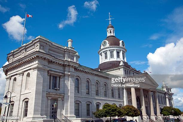 kingstoncity hall - kingston ontario stock photos and pictures