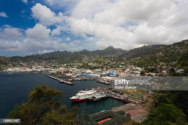 Kingstown, St. Vincent, city view