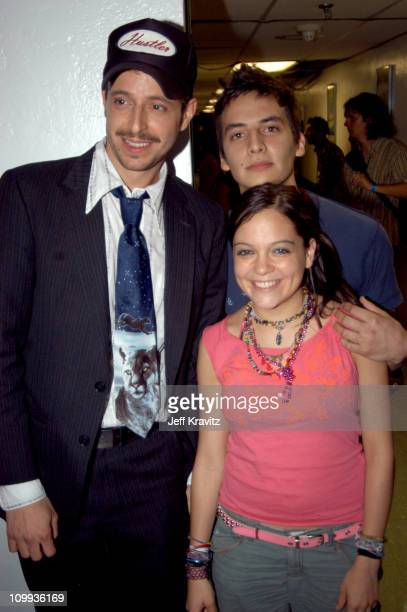 Kinky and Natalia Lafourcade during MTV Video Music Awards Latin America 2003 Backstage and Audience at Jackie Gleason Theater in Miami Beach Florida...