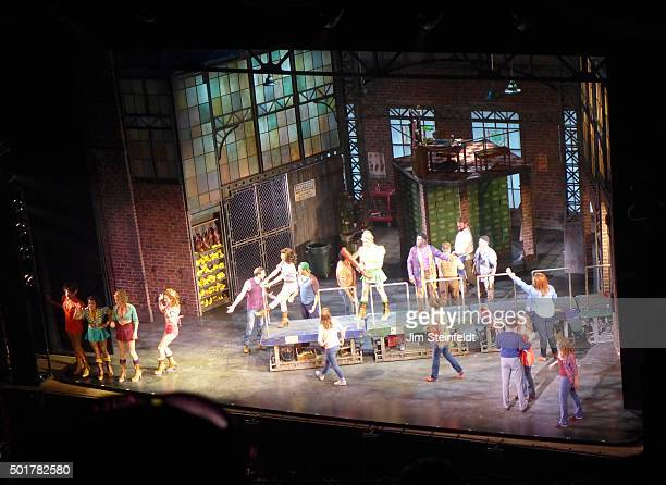 Kinky Boots cast at the Orpheum Theatre in Minneapolis Minnesota on July 29 2015