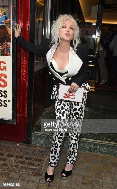 'Kinky Boots' Gala Night hosted by Cyndi Lauper in support of Heads Together at Adelphi Theatre on May 29 2018 in London England