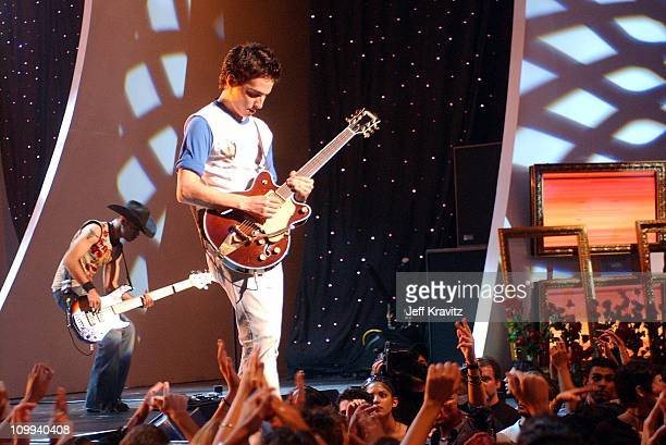 Kinky during MTV Video Music Awards Latinoamerica 2002 Show at Jackie Gleason Theater in Miami FL United States