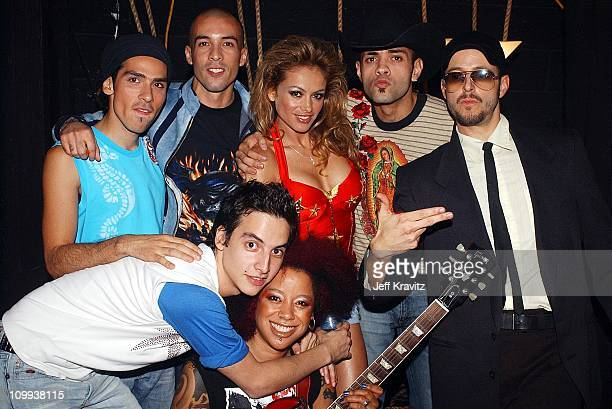 Kinky Paulina Rubio during MTV Video Music Awards Latinoamerica 2002 at Jackie Gleason Theater in Miami FL
