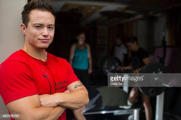Kinnon MacKinnon will represent Toronto as he participates in the powerlifting event at this year's Gay Games in Cleveland July 19 2014