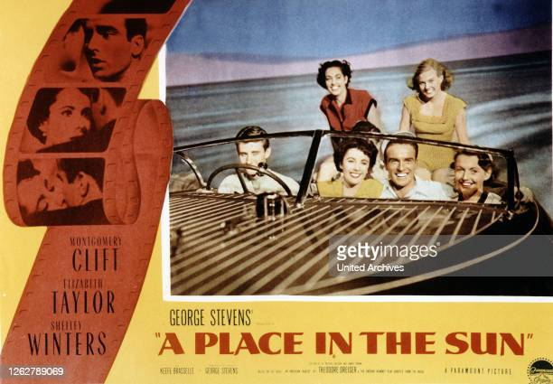 Kino A Place in the Sun aka Ein Platz an der Sonne USA Regie George Stevens Darsteller Montgomery Clift Elizabeth Taylor Shelley Winters