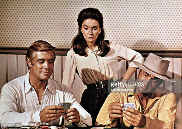 Kino. Als Jim Dolan kam aka. Rough Night in Jericho, USA, 1967 Regie: Arnold Laven Darsteller: Dean Martin, Jean Simmons, George Peppard.