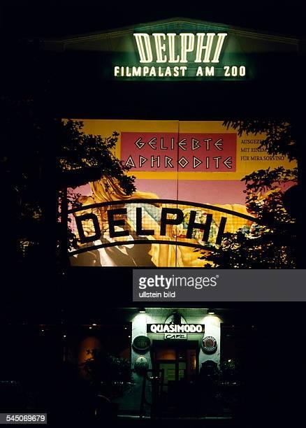 Kino an der Kantstrasseunten das Cafe Quasimodo`Nachtaufnahme 1996