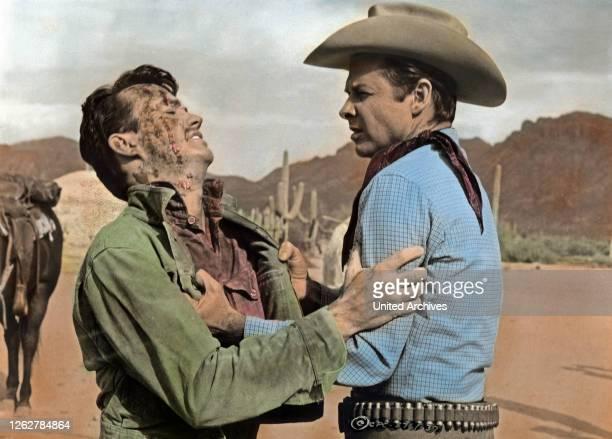 Kino. Arizona Raiders, aka: Goldtransport durch Arizona, USA Regie: William Witney, Darsteller: Ben Cooper, Audie Murphy.