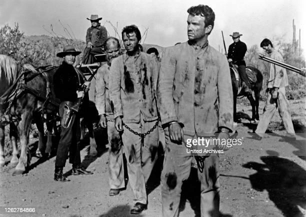 Kino. Arizona Raiders, aka: Goldtransport durch Arizona, USA Regie: William Witney, Darsteller: Audie Murphy, Ben Cooper.