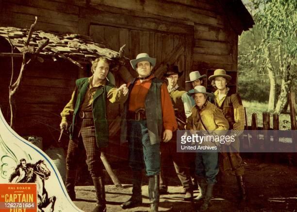 Kino. Australien In Flammen, 1930er, 1930s, Captain Fury, Film, Australien In Flammen, 1930er, 1930s, Captain Fury, Film, Captain Fury - Szene mit...