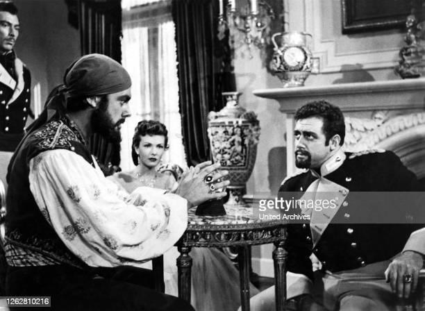 Kino. Banditen von Korsika, USA, 1952 s/w, Regie: Ray Nazarro, LEE VAN CLEEF,RICHARD GREENE, PAULA RAYMOND, RAYMOND BURR, Stichwort: Zigeuner,...