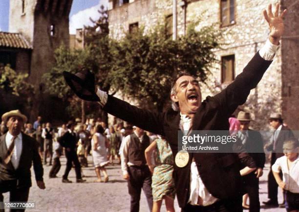 Kino. Das Geheimnis Von Santa Vittoria, 1960er, 1960s, Film , Secret Of Santa Vittoria, The, Das Geheimnis Von Santa Vittoria, 1960er, 1960s, Film ,...