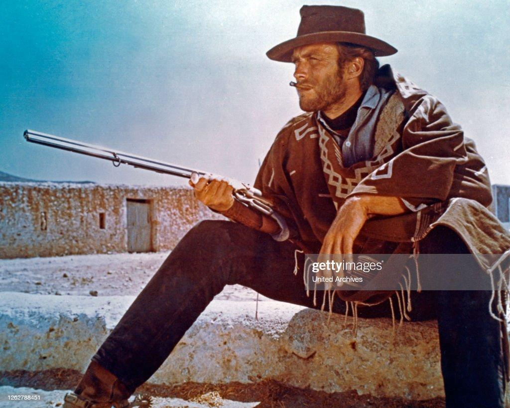 Kino Der Amerikanische Schauspieler Clint Eastwood In Seiner News Photo Getty Images