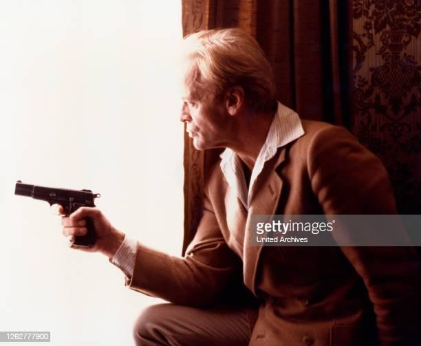 Kino. Der deutsche Schauspieler Klaus Kinski, ca. Ende, 1960er Jahre.