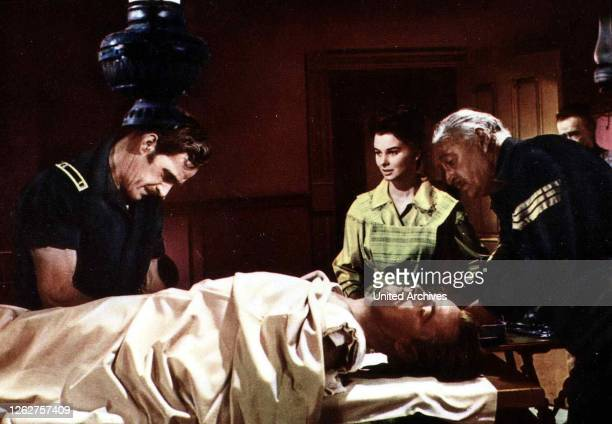 Kino Der Einsame Adler Vom Last River Drum Beat Der Einsame Adler Vom Last River Drum Beat Alan Ladd Audrey Dalton Johnny MacKay wurde verletzt als...