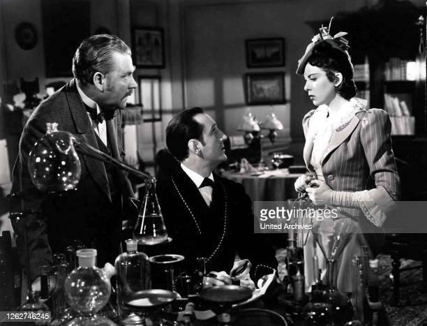Kino. Die Abenteuer Des Sherlock Holmes, 1930er, 1930s, Adventures Of Sherlock Holmes, The, Film, Kriminalfilm, Sherlock Holmes, crime, Die Abenteuer...