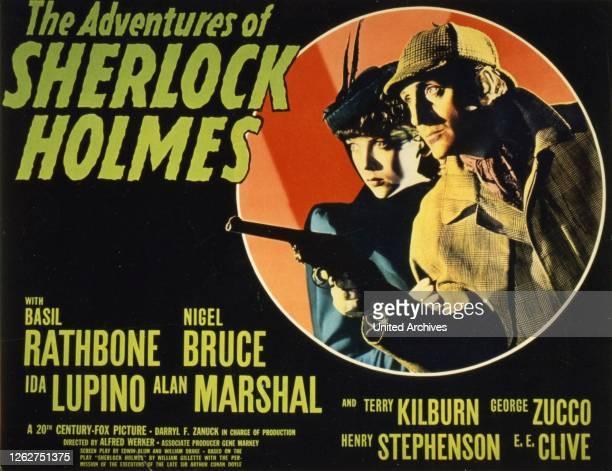 Kino Die Abenteuer Des Sherlock Holmes 1930er 1930s Adventures Of Sherlock Holmes The Film Kriminalfilm crime lobby card Die Abenteuer Des Sherlock...