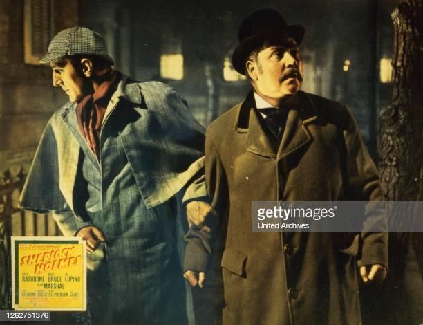 Kino Die Abenteuer Des Sherlock Holmes 1930er 1930s Adventures Of Sherlock Holmes The Detektiv Film Kriminalfilm Sherlock Holmes crime detective...